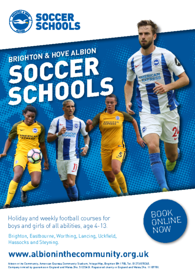 Soccer Schools Christmas Flyer