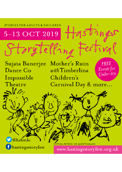 Hastings Storytelling Festival 5-13 Oct