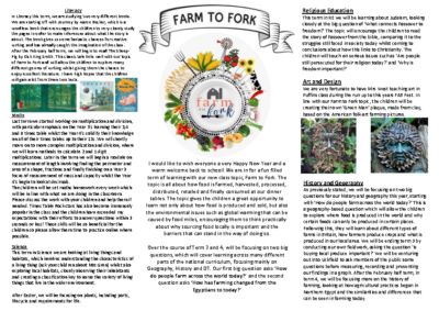 Puffins Curriculum Newsletter Spring Term 2019-20