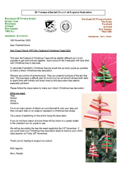 Holy Cross Church VIRTUAL Festival of Christmas Trees 2020